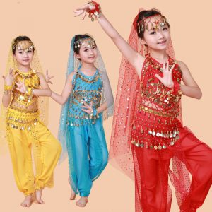 Bollywood dance costume