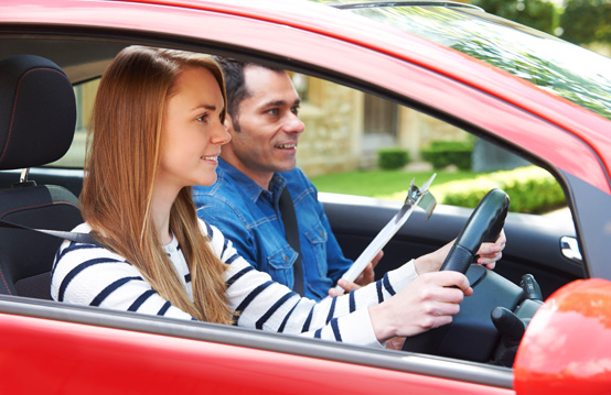 Before you start driving, the first and the most important thing is to get comfortable or familiar with your car.